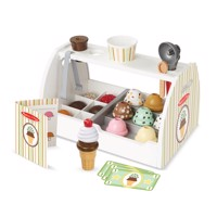 Melissa Doug Wooden Icecream Counter