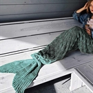 Mermaid Tail Blanket - Lake Blue (04345.BL)