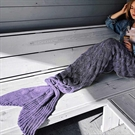 Mermaid Tail Blanket - Purple (04345.PR)