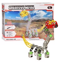 Metal Dino Constructionset 122Pcs