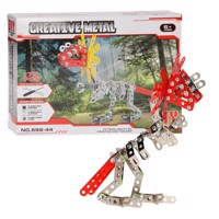 Metal Dino Constructionset 175Pcs