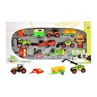 Metal Work Vehicles Playset Deluxe