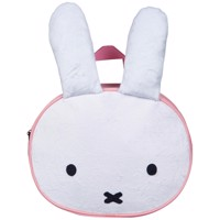 Miffy Plush Backpack Pink