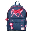 Milky Kiss Backpack Horse with Sequins