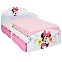 Minnie mouse junior wooden car bed w storage 140Cm