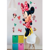 Minnie Mouse Kæmpe Figur Wallsticker