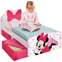 Minnie mouse bed w storage 140Cm