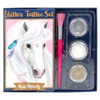 Miss Melody - Glitter Tattoo Set (410010)