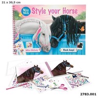 Miss Melody - Style Your Horse Coloring Book