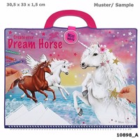 Miss Melody dreamhorse colouringbook
