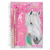 Miss melody notebook pink