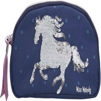 Miss Melody  Pencil Case with Sequins  Blue 0010276