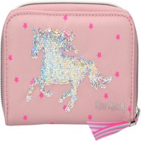 Miss Melody  Wallet with Sequins  Pink