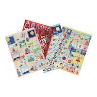 Miss Roos Sticker Sheets, 4pcs