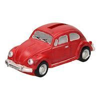 Money box Volkswagen Beetle Red