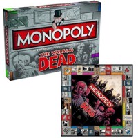 Monopoly - Walking Dead Survival Edition Board Game by Winning Moves - UK Edition