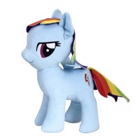 My Little Pony 25 cm soft plush rainbow dash