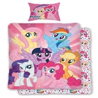 My Little Pony  Bedding  World of Ponies adult size 140 x 200 cm