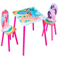 My little pony table and chairs