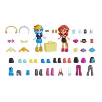 My Little Pony  Equestria Girls Fashion Squad Best Friends  Rainbow Dash  Sunset Shimmer