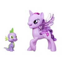 My Little Pony  Princess Twilight  Sparkle Spike The Dragon  Friendship Duet C0718