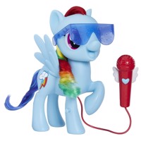My Little Pony Singing Rainbow Dash Sefie