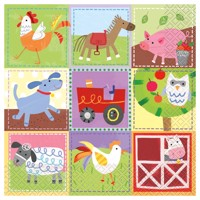 Napkins farm 16 pcs