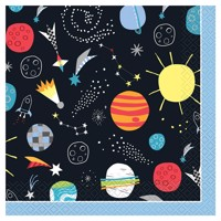 Napkins Space Travel, 16pcs