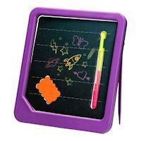 Neon Glow drawing board with marker and sponge