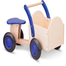 New classic toys carrier bike blue