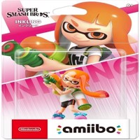 Nintendo Amiibo Inkling Smash Bros Collection