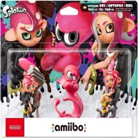 Nintendo Amiibo Splatoon Octoling  3 Pack