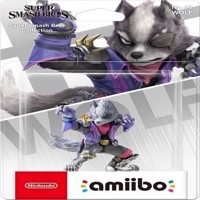 Nintendo Amiibo Wolf Smash Bros Collection
