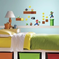 Nintendo Super Mario - Build a Scene Wallstickers