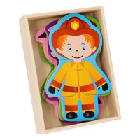 Occupations puzzle boy 6in1