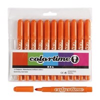 Orange Jumbo markers, 12st