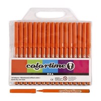 Orange markers, 18st