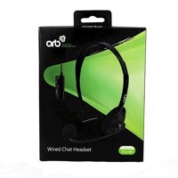 ORB Xbox 360 Wired Headset Black