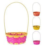 Oval Easter Basket with Handle