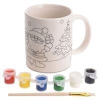 Paint your own Christmas Mug, 8dlg