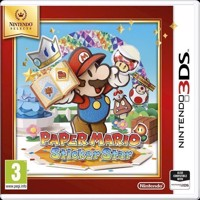 Paper Mario Sticker Star Selects - Nintendo 3DS
