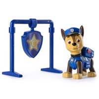 Paw Patrol - Pull Back Pup with Badge, Chase