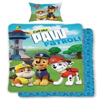 Paw Patrol  Bedding  Call the Paw Patrol adult size 140 x 200 cm