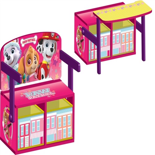 Paw patrol girl 3In1 seat table storage