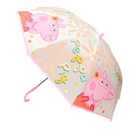 Peppa pig matt transparent umbrella