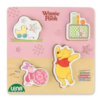 Winnie the Pooh and Piglet wooden puzzle