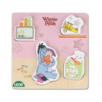 Winnie the Pooh and donkey wooden puzzle