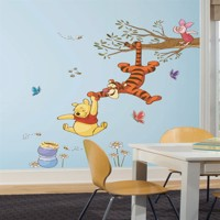 Peter Plys Svinger for at få honning Gigant Wallsticker