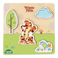 Winnie the Pooh and Tigger wooden puzzle
