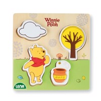 Winnie the Poo wooden puzzle